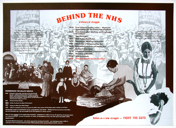 Behind the NHS