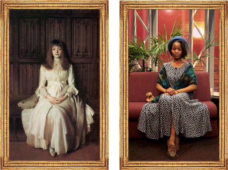 Sylvia Mkanadawire double image