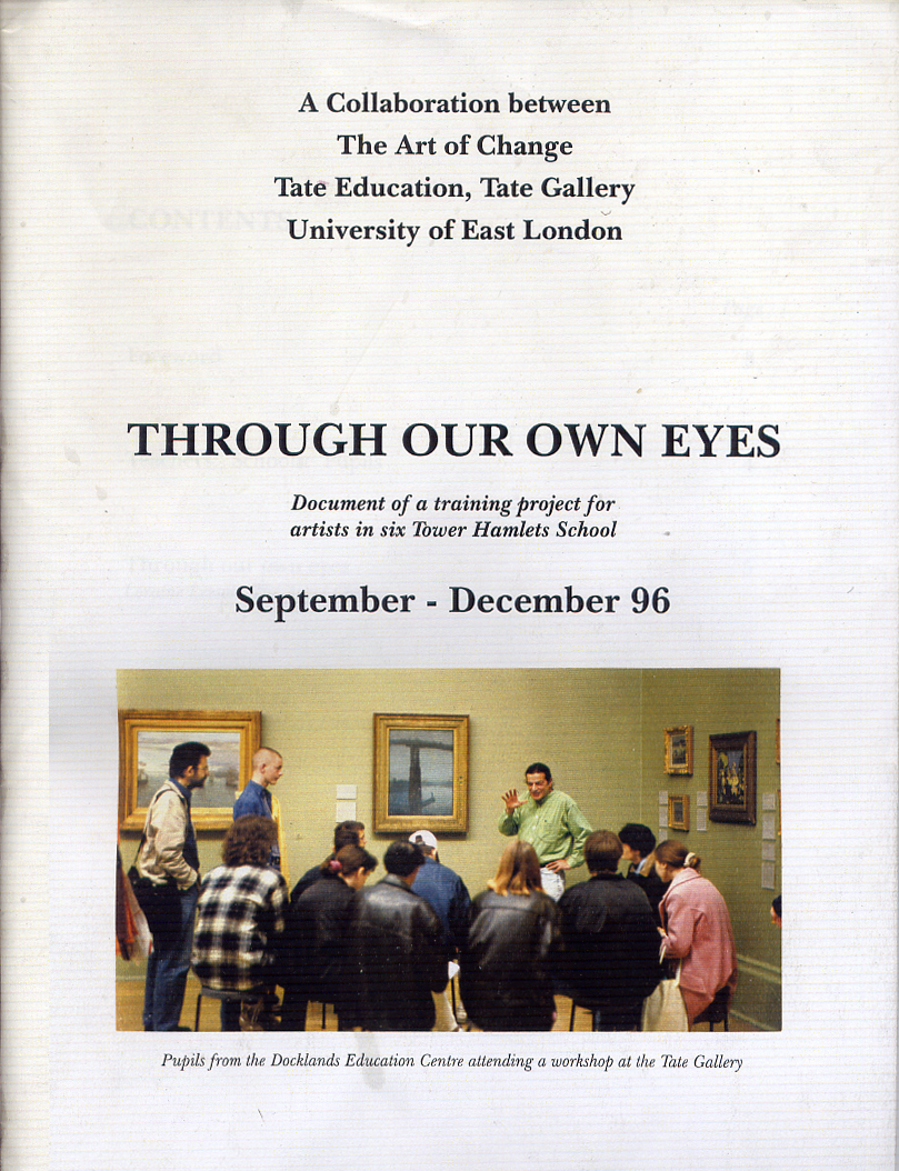 Through our own eyes_COVERLOW RES